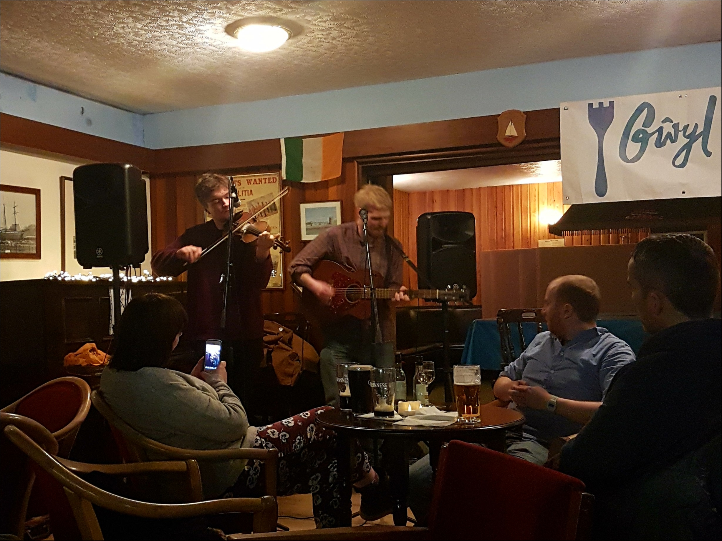 'Soup and a Song' at the Sailing Club